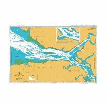 617 Sherbro River Admiralty Chart