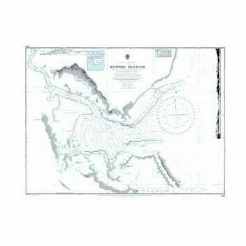 687 Kiswere Harbour Admiralty Chart