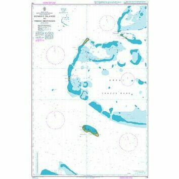 726 Egmont Islands to Three Brothers Admiralty Chart