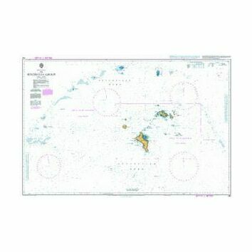 740 The Seychelles Group Admiralty Chart