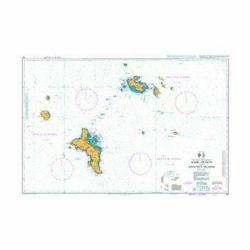 742 Mahe - Praslin and Adjacent Islands Admiralty Chart