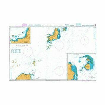 795 The Grenadines - Southern Part Admiralty Chart