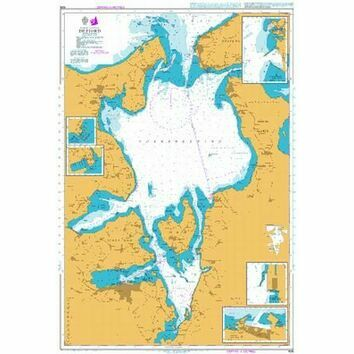 926 Isefjord Admiralty Chart