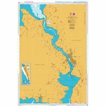 944 Guldborg Sund Admiralty Chart
