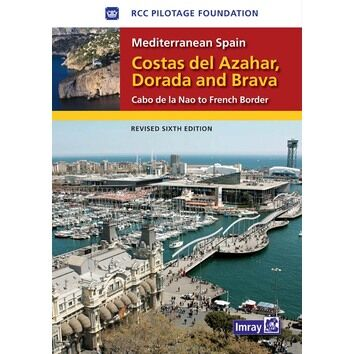 Imray Costas del Azahar Dorada & Brava Cruising Guide