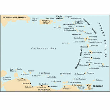 Imray 1 Eastern Caribbean General Chart