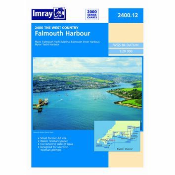 Imray Chart 2400.12: Falmouth Harbour