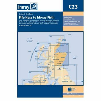 Imray Chart C23: Fife Ness to Moray Firth