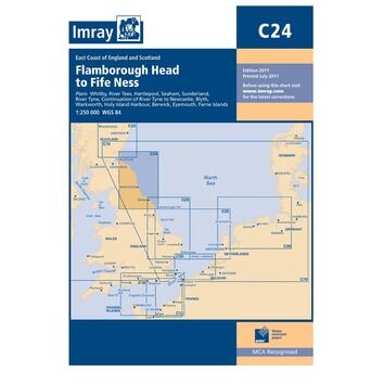 Imray Chart C24: Flamborough Head to Fife Ness