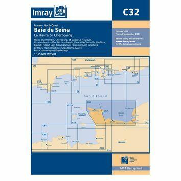 Imray Chart C32: Baie de Seine