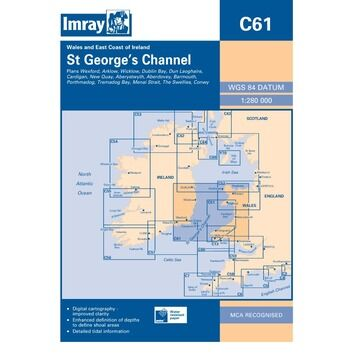 Imray Chart C61: St. George\'s Channel