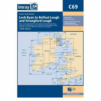 Imray Chart C69: Loch Ryan to Belfast Lough and Strangford Lough