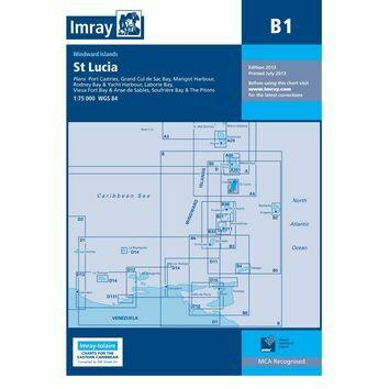 Imray Chart B1: St Lucia