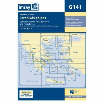 Imray Chart G141: Saronikos Kolpos