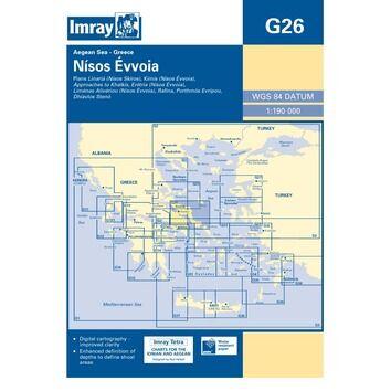 Imray Chart G26: Nisos Evvoia