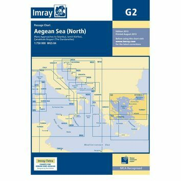 Imray G2 Aegean Sea North Part Passage Chart