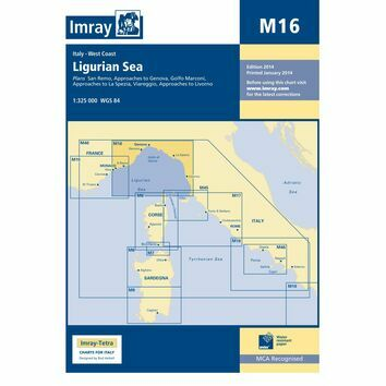 Imray Chart M16: Ligurian Sea