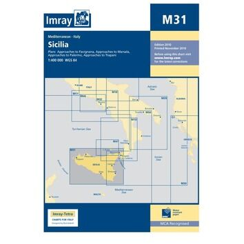 M31 Southern Adriatic and Ionian Seas Admiralty Chart