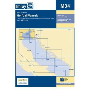 Imray Chart M34 Golfo di Venezia