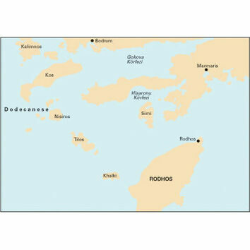 Imray Nautical Chart G35 Dodecanese and Coast of Turkey