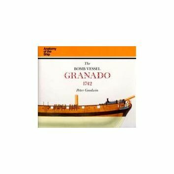 Anatomy of the ship, the Bomb Vessel Granado