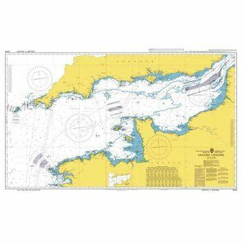 5049 English Channel British Admiralty Instructional Sea Chart