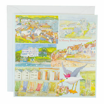 Emma Ball 'A Merry Devon' Christmas Cards (Pack of 10)