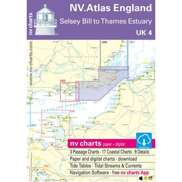 UK4 - Selsey Bill to London Chart Atlas