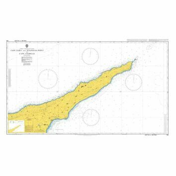 796 Cape Aloea and Stazousa Point to Cape Andreas Admiralty Chart