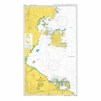 AUS305 Vanderlin Island to Cape Grey Admiralty Chart