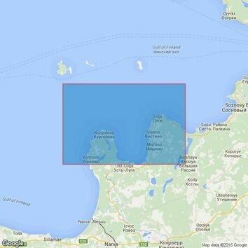2713 Baltic Sea-Russia, Approaches to the port of Ust'-Luga Admiralty Chart