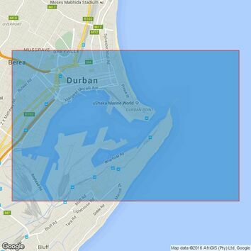 643 Durban Harbour Admiralty Chart
