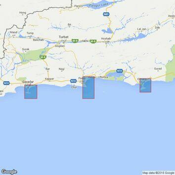 38 Karachi to Ra's al Hadd Admiralty Chart