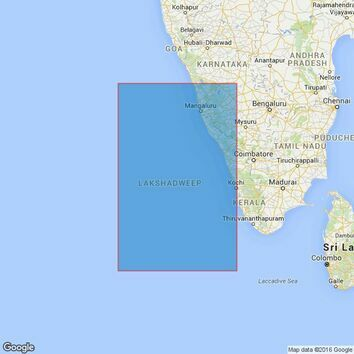 2738 Lakshadweep Sea Northern Part Admiralty Chart