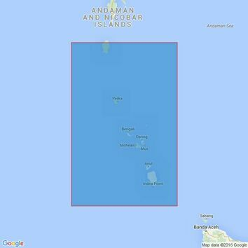 840 Little Andaman to Great Nicobar Admiralty Chart