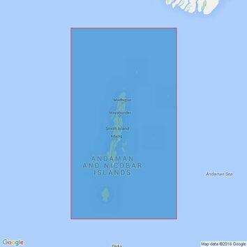 825 Andaman Islands Admiralty Chart