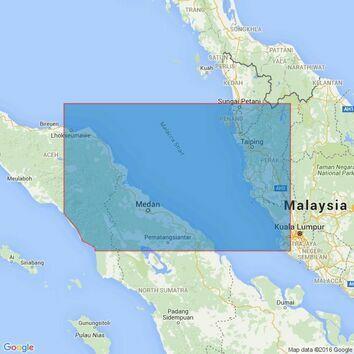 1353 Tanjung Jamboaye to Permatang Sedepa (One Fathom Bank) Admiralty Chart