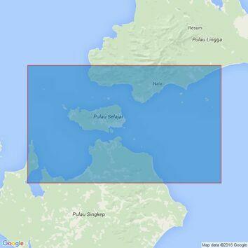 1789 Pulau-Pulau Lingga Admiralty Chart