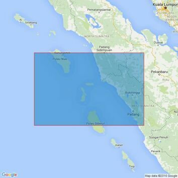 2779 Pulau Ilir to Pulau Nyamuk Admiralty Chart