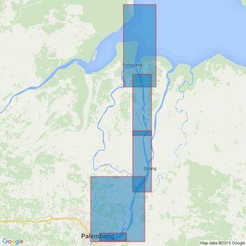 3476 Sungai Palembang Admiralty Chart