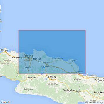 3729 Tanjungpriok to Cirebon Admiralty Chart