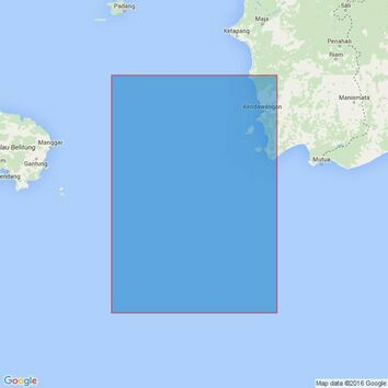 3757 Gosong Aling to Pulau Pesemut Admiralty Chart