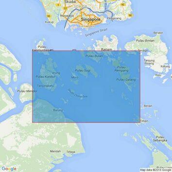 3948 Selat Durian Admiralty Chart