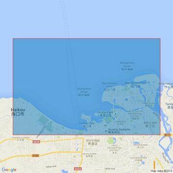 137 China - Hainan Dao, Haikou Wan Admiralty Chart