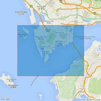 342 Shekou Gang to Mawan Gang Admiralty Chart
