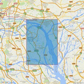 346 Nizhou Tou to Huangpu Admiralty Chart
