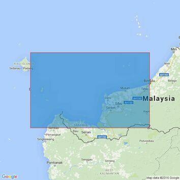 1336 Pulau-Pulau Subi Besar to Bintulu Admiralty Chart