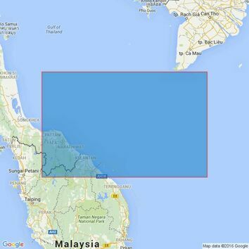 2426 Gulf of Thailand, South China Sea, Malaysia Thailand and Vietnam, Palau Redang to Khoai. Admiralty Chart