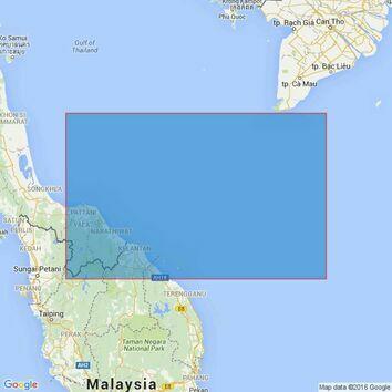 2426 Gulf of Thailand, South China Sea, Malaysia Thailand and Vietnam, Palau Redang to Khoai. Admiralty Chart