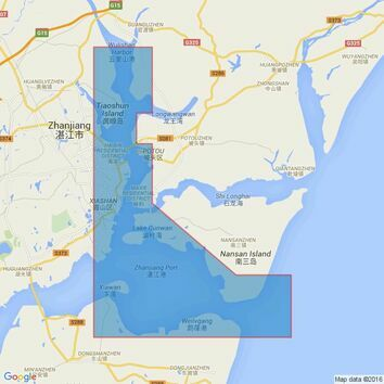 3349 Zhanjiang and Approaches Admiralty Chart